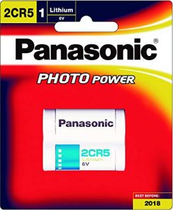 pin 2cr5 panasonic